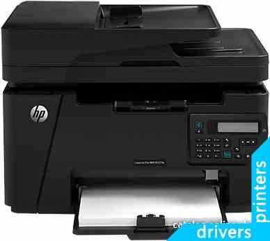 принтер HP LaserJet Pro MFP M127fn (CZ181A)