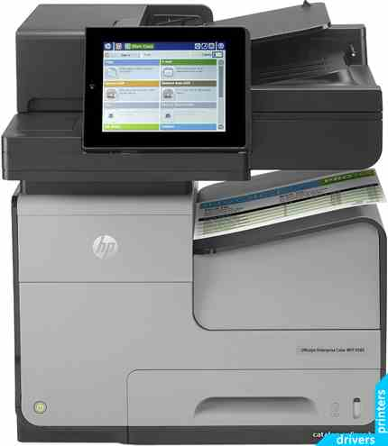 Принтер HP Officejet Enterprise X585dn