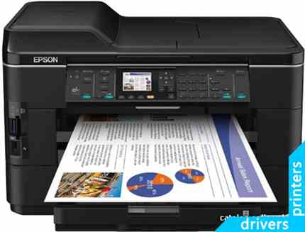 принтер Epson WorkForce WF-7525