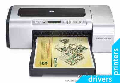 Принтер HP Business Inkjet 2800dtn (C8164A)